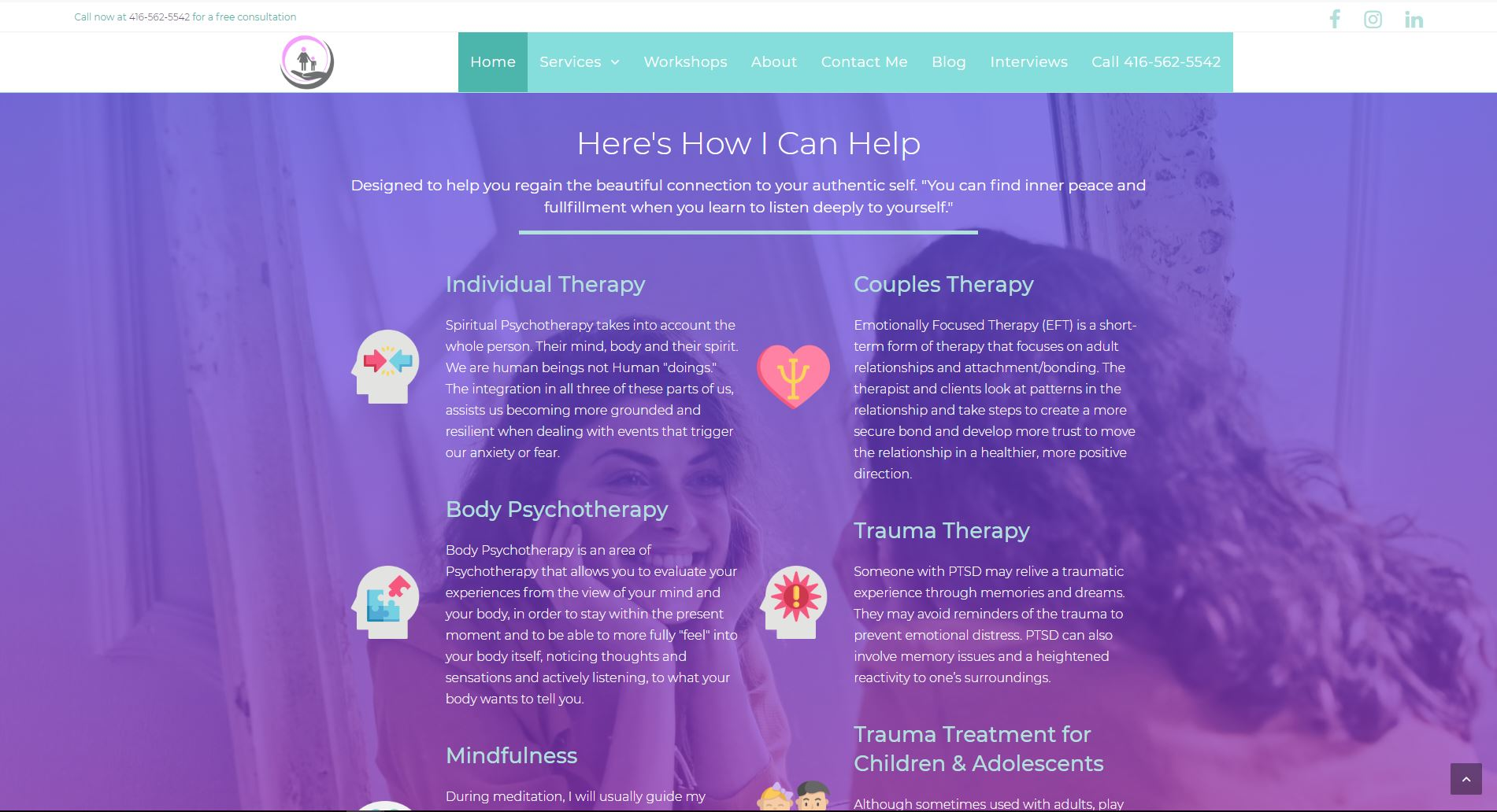 Psychotherapy with Shelley Website